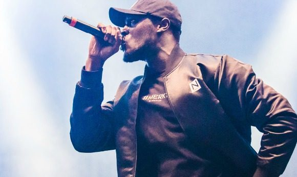 Stormzy spelar på Way Out West , WoW , Göteborg 2016-08-13