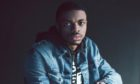 AUSTIN, TX - MARCH 21: Rapper Vince Staples poses for a portrait backstage at The FADER FORT Presented by Converse during SXSW on March 21, 2015 in Austin, Texas. (Photo by Roger Kisby/Getty Images Portrait)