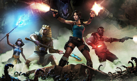 Lara Croft and the Temple of Osiris L