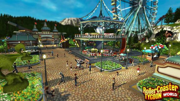 RollerCoaster Tycoon World S
