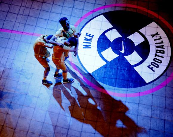 Nike Fotball XSfeerbeeld Foto ; Pim Ras