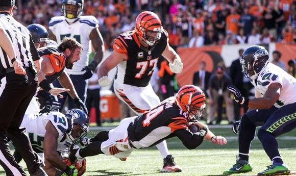Seattle Seahawks vs. Cincinnati Bengals NFL Football