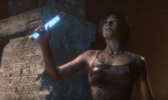 Lara Croft-Woman vs Wild