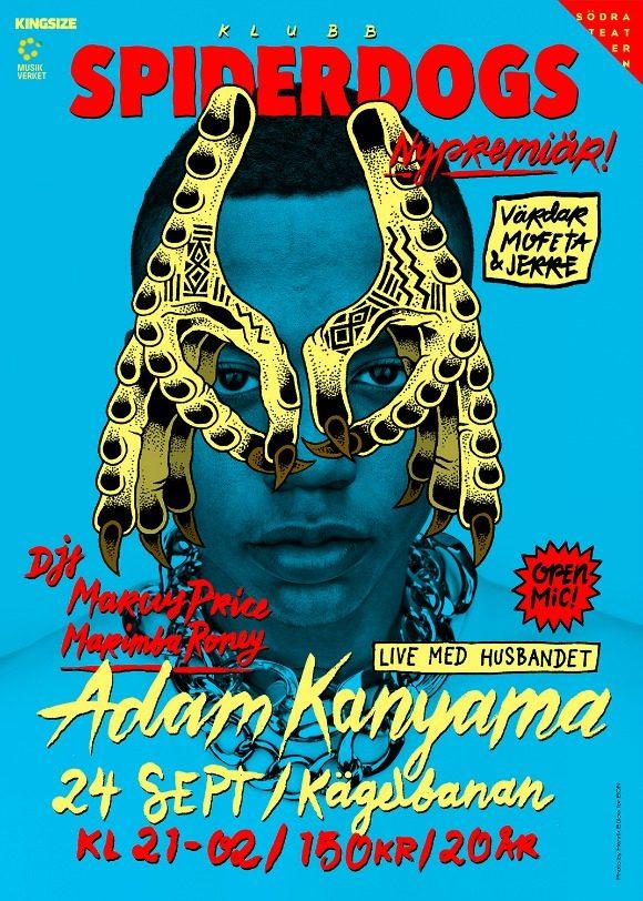 Adam Kanyama-Spiderdogs-S