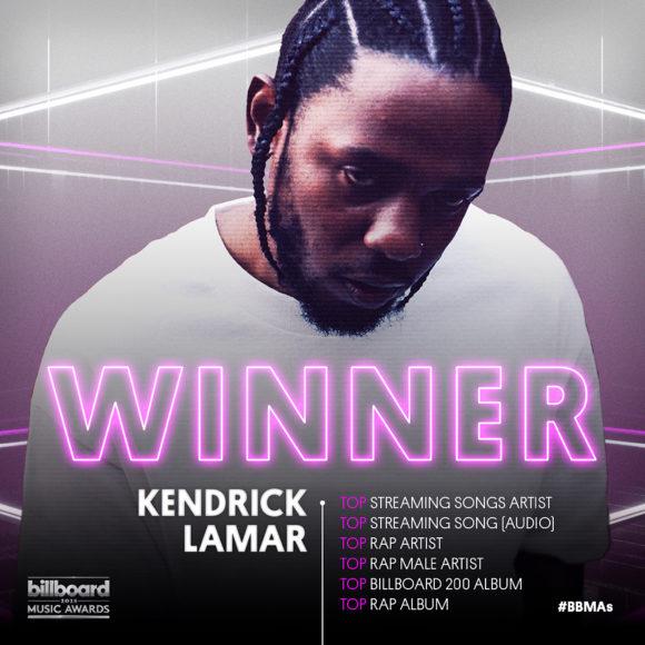 Drake och Kendrick Lamar bland vinnarna under Billboard