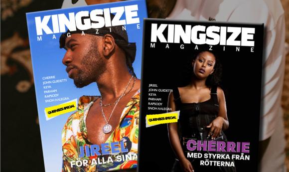 e53b05687b1 Kingsize Magazine nr 2 2018 finns nu att läsa online!   Kingsizemag.se    Svensk hiphop rap musik dans kläder artister tv