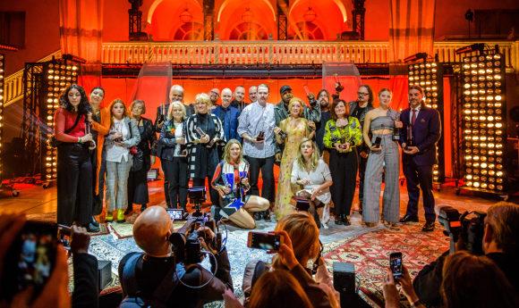 Grammisgalan den 8 februari 2018 i Vinterträdgården på Grand Hôtel, Stockholm