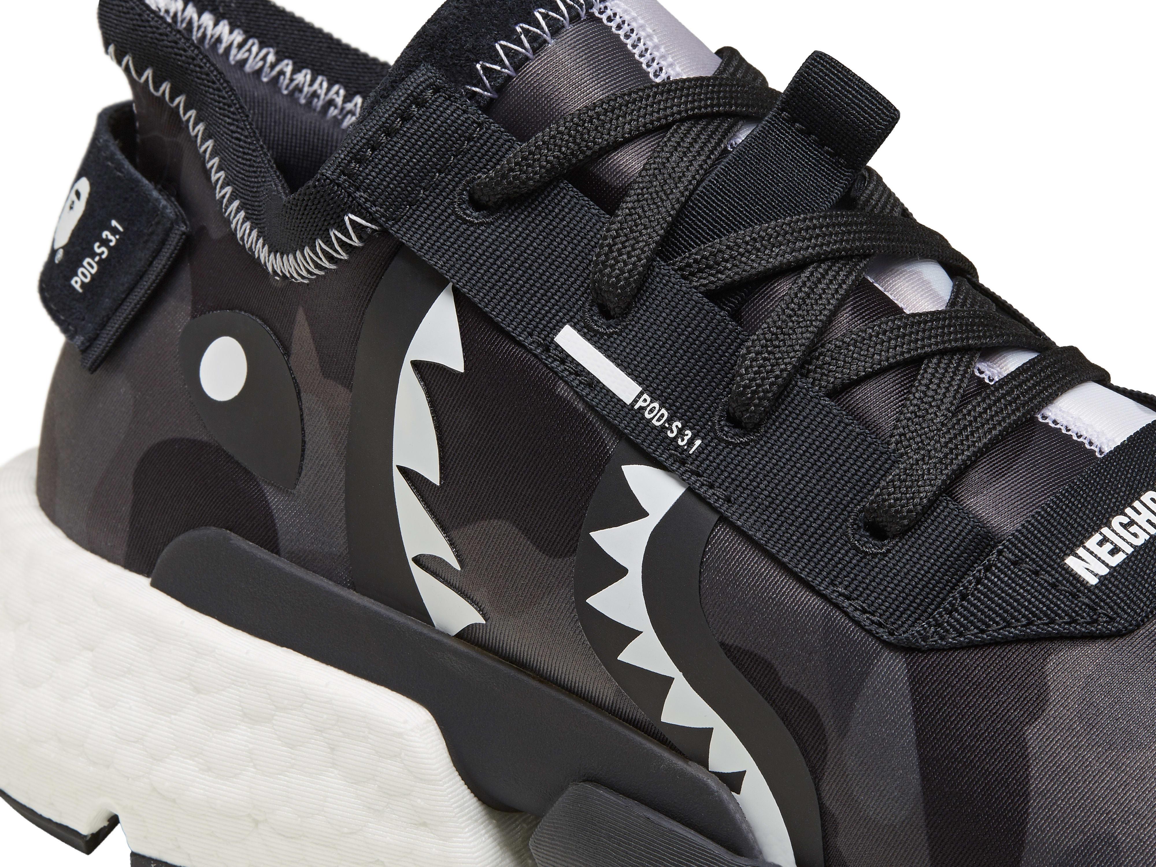 bape neighborhood adidas pod 3 1 ee9431 detail   Kingsizemag