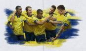 Alex Isak och Jordan Larsson startar för Sverige mot Ryssland