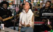 Se Snoh Aalegra med band på NPR:s Tiny Desk Concert