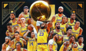 Los Angeles Lakers tog hem sin första NBA-titel på tio år