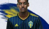 adidas football presenterar Sveriges nya bortatröja inför VM-kval och EM-slutspel