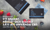 CBD strips: Ett enklare, mer diskret och effektivare sätt att använda CBD